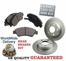 FOR RANGE ROVER SPORT 4.2 4.4 V8 2005-2009 REAR BRAKE DISCS SET +  BRAKE PAD KIT