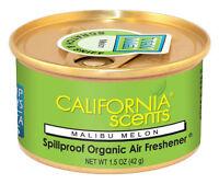 4 x Car, Caravan & Home Long Lasting California Scent Malibu Melon Air Freshener