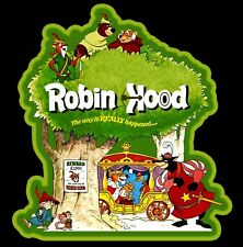 70's Disney Animated Classic Robin Hood Poster Art custom tee Any Size Any Color