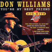You're My Best Friend by Don Williams (CD, Oct-1995, Country Stars (USA))