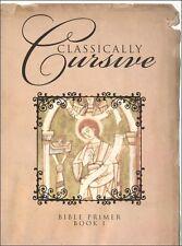 Veritas Press - Classically Cursive 1 Bible Primer - NEW