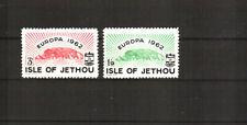 Jethou Island  Katalognummer  15 - 16 postfrisch (europa:21866)