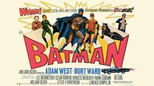 Batman and Robin Movie Poster 1966 CANVAS 20X30 WALL ART