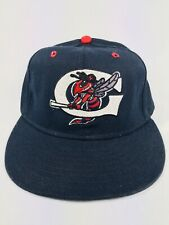NY Yankees GREENSBORO HORNETS Cap Hat Class A BASEBALL fitted 7 1/8 Pro Line Vtg