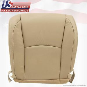Fits 2004 - 2009 Lexus RX 330 RX 350 RX400 Driver bottom Leather Seat Cover Tan