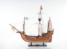 "Santa Maria 29"" Wooden Quality Tall Ship Model 1492 Columbus' Flagship"