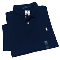 Polo Ralph Lauren Classic Fit Soft cotton Polo Shirt in Navy Size XL/TG