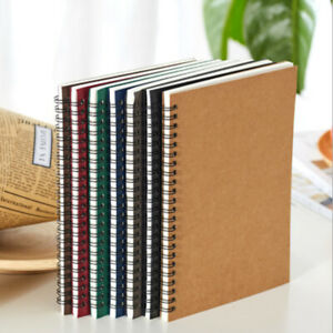 Portable Diary Notebook Thicken School Office Meeting Record Notepad Manual