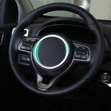 Chrome Steering Wheel Panel Cover Badge Insert Trim Ring For Kia Sportage 2017-