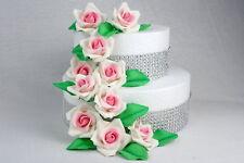Zuckerrosen Zuckerblumen Rosen Ohne Draht Tortenaufleger Tortendeko Hochzeit