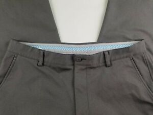 Footjoy FJ Men's Gray Flat Front Performance Golf Pants Size 36 x 31   #2300