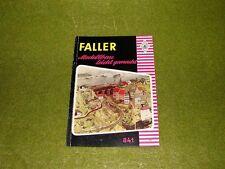 Faller  - Katalog Modellbau leicht gemacht