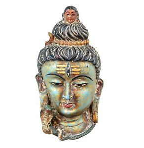 Collectible Antique Resin Lord Shiva mask wall mask wall hanging Wall sculpture