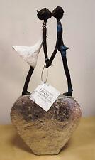 """Poly-Skulptur: """"Liebespaar auf Herz"""""""
