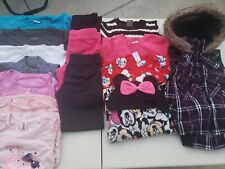 Lot of 15 Girls Mixed  Fall/Winter Clothing Size 6/6x Play  Clothes
