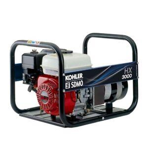 SDMO HONDA HX 3000 C5 Stromerzeuger | Benzinmotor | Kohler SDMO