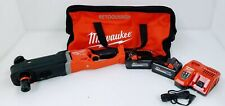 """Milwaukee 2811-22 M18 FUEL SUPER HAWG 7/16"""" Right Angle Drill Kit"""