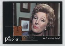 2002 Cards Inc The Prisoner Autograph Series #25 A Charming Lady? Card 0f8