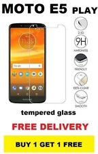Genuine 100% Official Motorola Moto E5 PLAY Tempered Glass Screen Protector