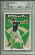 1993 TOPPS DEREK JETER RC ROOKIE CARD #98 GRADED BGS 8.5 NEW YORK YANKEES (2)