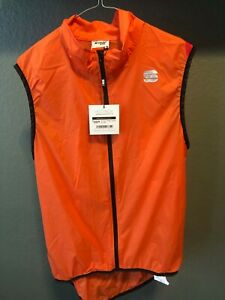 CASTELLI WOMEN VEST, LIGHT WEIGHT, REPEL WIND AND WATER L 112