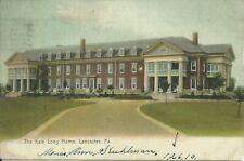 Lancaster Pennsylvania Kate Long Home 1910 Stuhlman Shannon Altoona Postcard