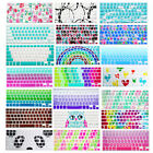 Silicone Soft Decal Prints Keyboard Cover for Macbook Air Pro 13