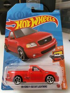 Hot Wheels 2021 '99 Ford F150 SVT Lightning *237/250 HW Hot Trucks *9/10 GRY97