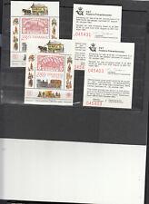 DANIMARCA BF HAFNIA 1987 x 2 con biglietti ingresso non comuni