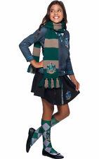 Child Slytherin Deluxe Scarf Fancy Dress Harry Potter Accessory
