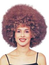 Beyonce Afro Brown Fancy Dress Wig