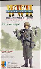 DRAGON Models 1/6 WWII KLAAS VERHAEGEN Belgian Volunteer MG34 Gunner #70665