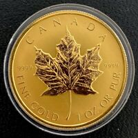 2014 Canada 1oz .9999 Proof Gold $200 Coin - Bald Eagle Protecting Her Nest