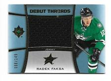 2015-16 Ultimate Collection Debut Threads Rookies Jersey Radek Faksa #98/149