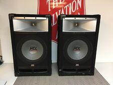 MTX AUDIO SPEAKERS TP112 150 WATT RMS/ 300 WATT PEAK POWER 33HZ-22KHZ