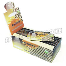 1 Box HONEY Flavored Cigarette Rolling Paper 1 1/4 Size 50 Papers Per Pack