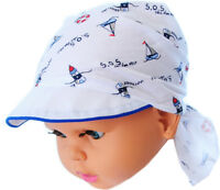 Kopftuch Sommermütze Mütze Kopfbedeckung Baby Kinder Tuch Bandana 38 bis 43cmKU