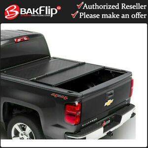 Bakflip G2 Tonneau Bed Cover for 2019-2021 GMC Sierra 1500 Short Bed