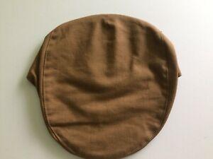 Hanna Hat Irish Linen brown Flat tailor cap driving made in Donegal Ireland