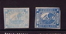 KGStamp Argentina BUENOS AIRES Boat STEAMSHIP 2 Stamps Faults FORGERY / FAKE ??