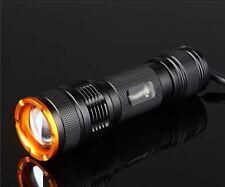 Mastiff Z3 Zoomable 1W 365 nm Ultraviolet Radiation LED UV Lamp Flashlight Torch