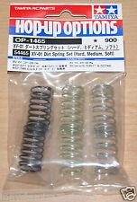 Tamiya 54465 XV-01 Dirt Conjunto Primavera (duro, medio, suave) (XV-01T/DF-03Ra), nuevo en paquete