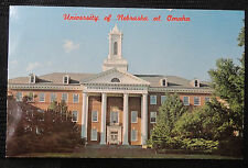Antique RPPC - University of Nebraska at Omaha  - NOT POSTED 1970's