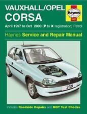 Haynes Manual - VAUXHALL CORSA - 1997 to 2000 (P to X Reg) - PETROL
