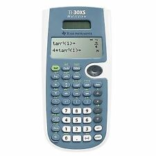 Ti-30xs Multiview Texas Instruments School Calculator Solar