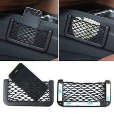 Car Van Storage Bag Net Pockets Mesh Phone Holder Ticket Organizer Universal