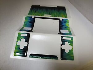 NEW Green & Blue Decal Skin  Sticker Cover for Nintendo DS System  #C47