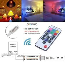 17 Keys RF Wireless LED RGB Controller Remote Controller for RGB LED Strip US