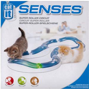 Catit Cat Senses Super Roller Circuit - Pet Toy - Cat Toy - Pet Fun