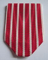 Napoléon III, ruban NEUF plié pour médaille militaire campagne d'Italie en 1859.